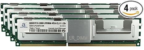 Hynix 32GB DDR3 4RX4 PC3L-12800L 1600MHz ECC REG Registered LR SERVER MEMORY RAM