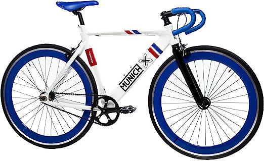 Moma Bikes Bicicleta Fixie Urbana, Fixie MUNICH SPORT RETRO , Full Alu (Varias Tallas): Amazon.es: Hogar