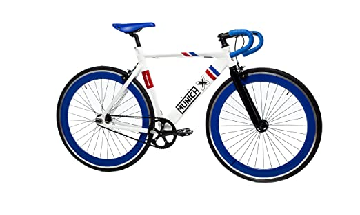 Moma Bikes Bicicleta Fixie Urbana, Fixie MUNICH SPORT RETRO , Full Alu (Varias Tallas
