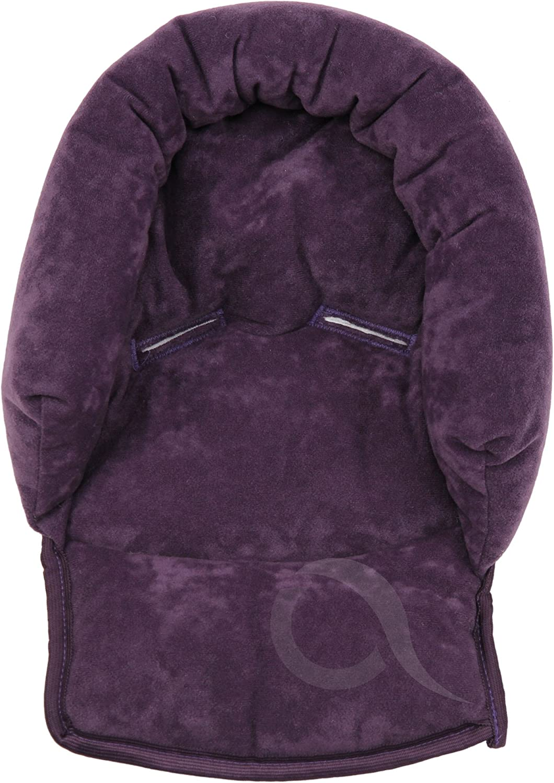 Infant \ Baby \ Toddler car seat soft // violet stroller head support pillow