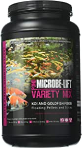 Ecological Labs MLLVMMD Legacy Variety Mix Floating Pellets and Stick, 2 pounds, 4oz