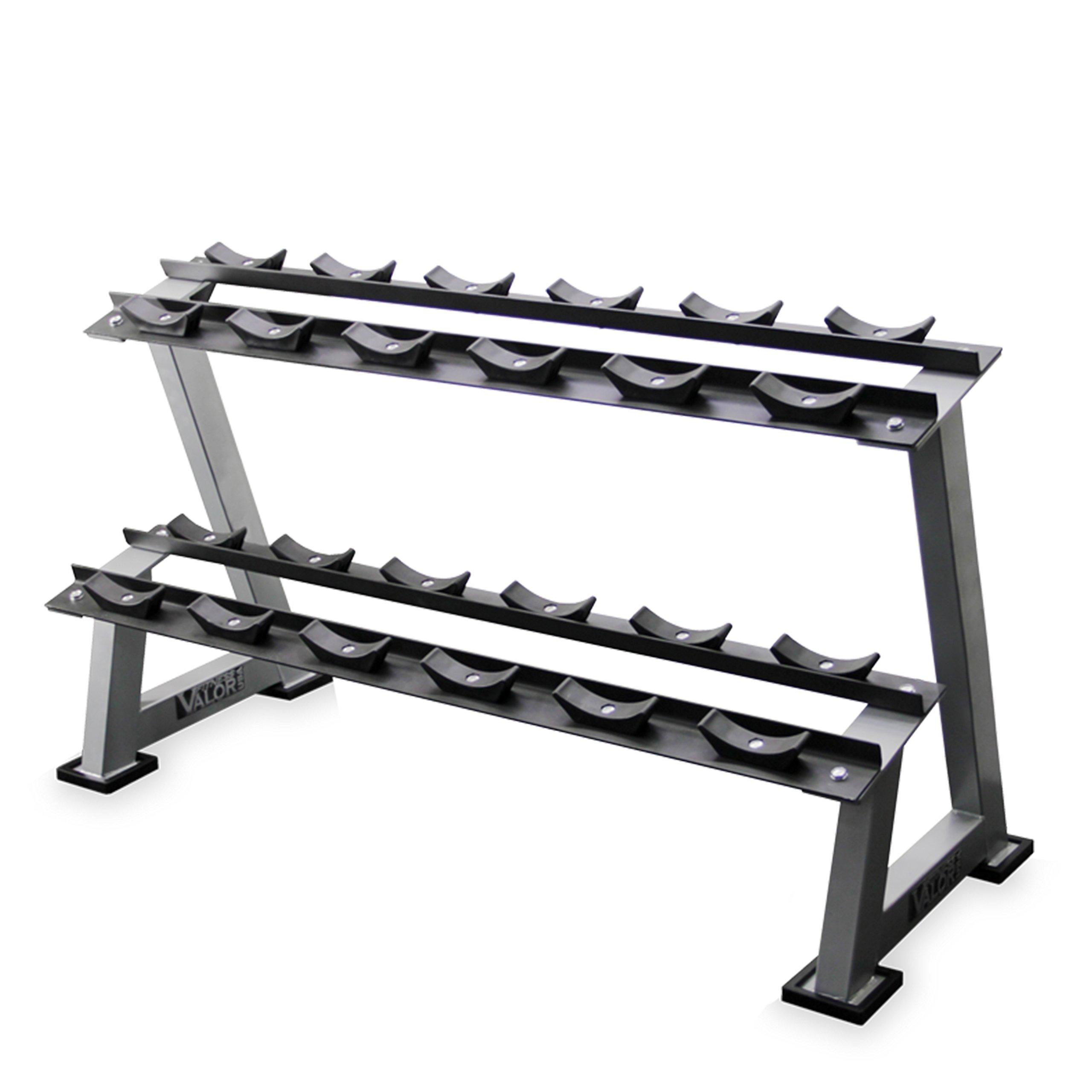 Valor Fitness BG-10 Dumbbell Rack 6-pairs by Valor Fitness