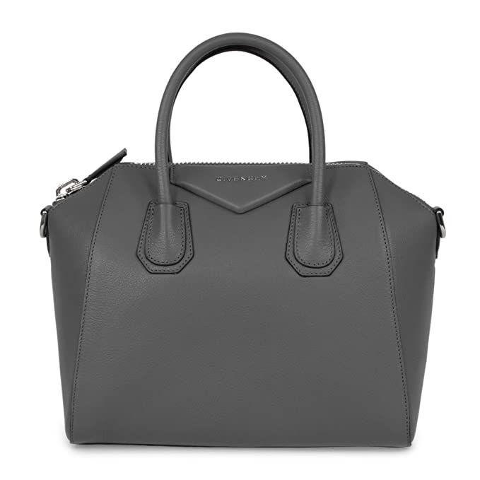 7c7881db86715 Givenchy Women's Antigona Sugar Goatskin Leather Satchel Bag, Dark Gray:  Givenchy: Amazon.ca: Clothing & Accessories