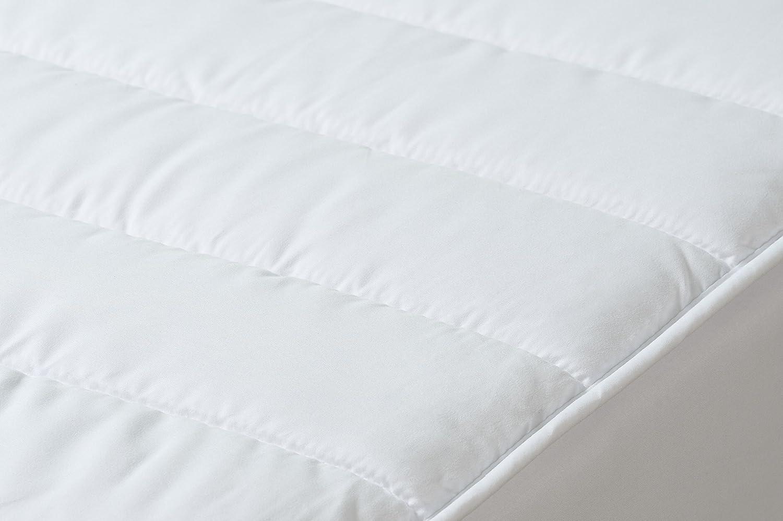 Tural - Cubrecolchón Antiácaros Reversible - Protector de colchón Acolchado. Talla 80x200cm: Amazon.es: Hogar