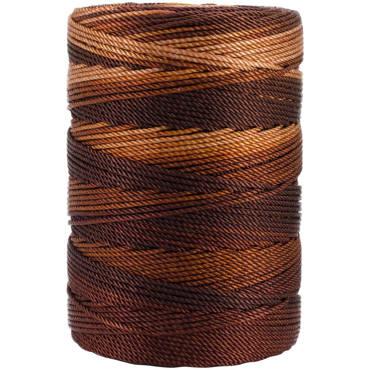 B00FOXXLPO Iris 18-483 Nylon Crochet Thread, 197-Yard, Brown Mix 81QLEyyyswL