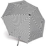 DankS 折りたたみ傘 ストライプ柄 晴雨兼用 UVカット