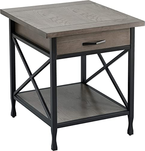 Leick Home Chisel Forge End Table