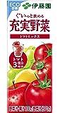 伊藤園 充実野菜 トマトミックス (紙パック) 200ml ×24本