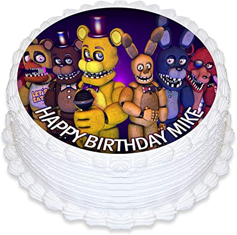 5 Five Nights at Freddy/'s Decor - Edible Cake Topper OR Cupcake Topper