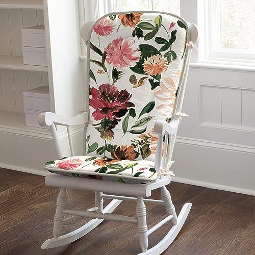 Reviewed: Carousel Designs Moody Flowers Rocking Chair Pad