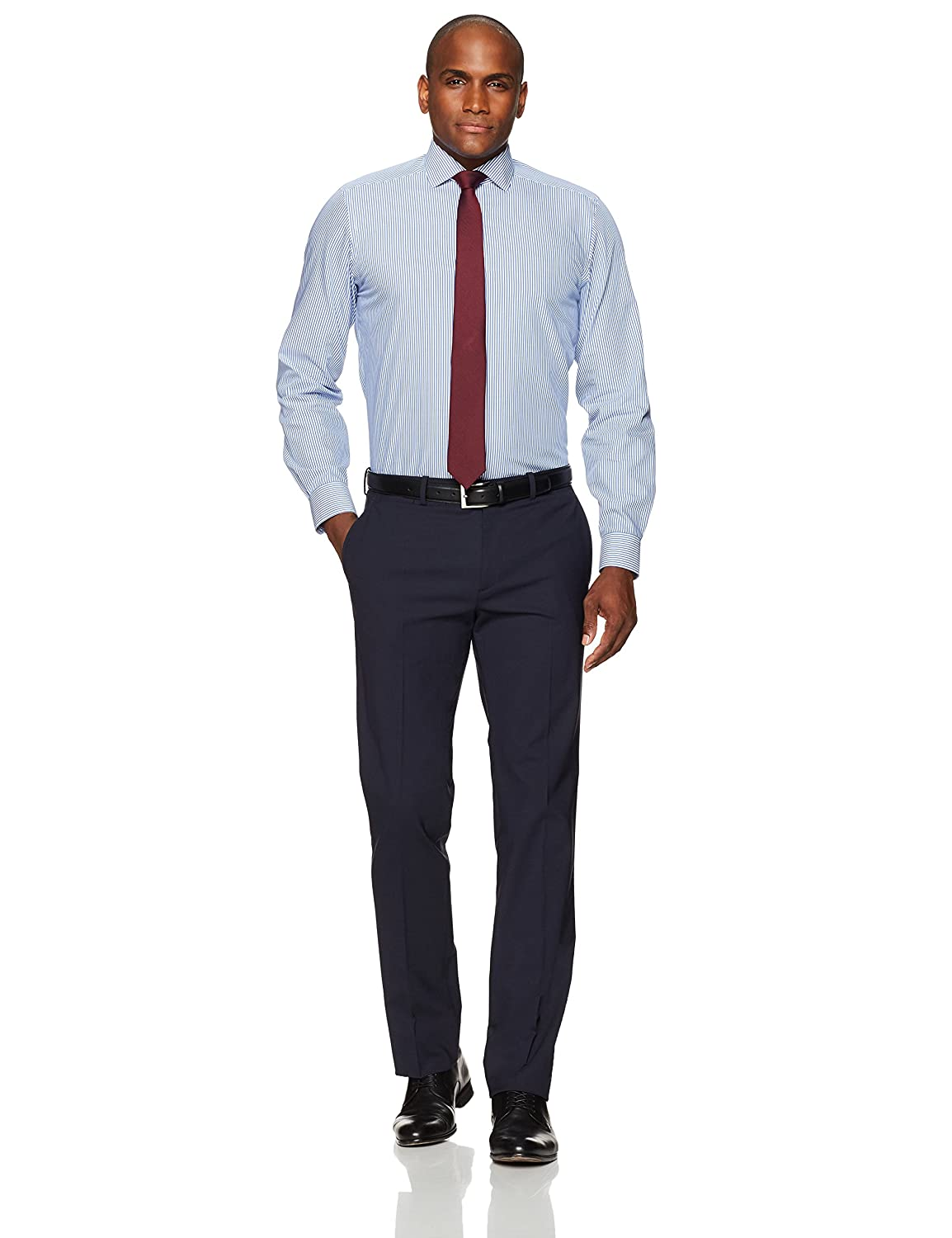 Amazon Buttoned Down Mens Fitted Pattern Non Iron Dress Shirt