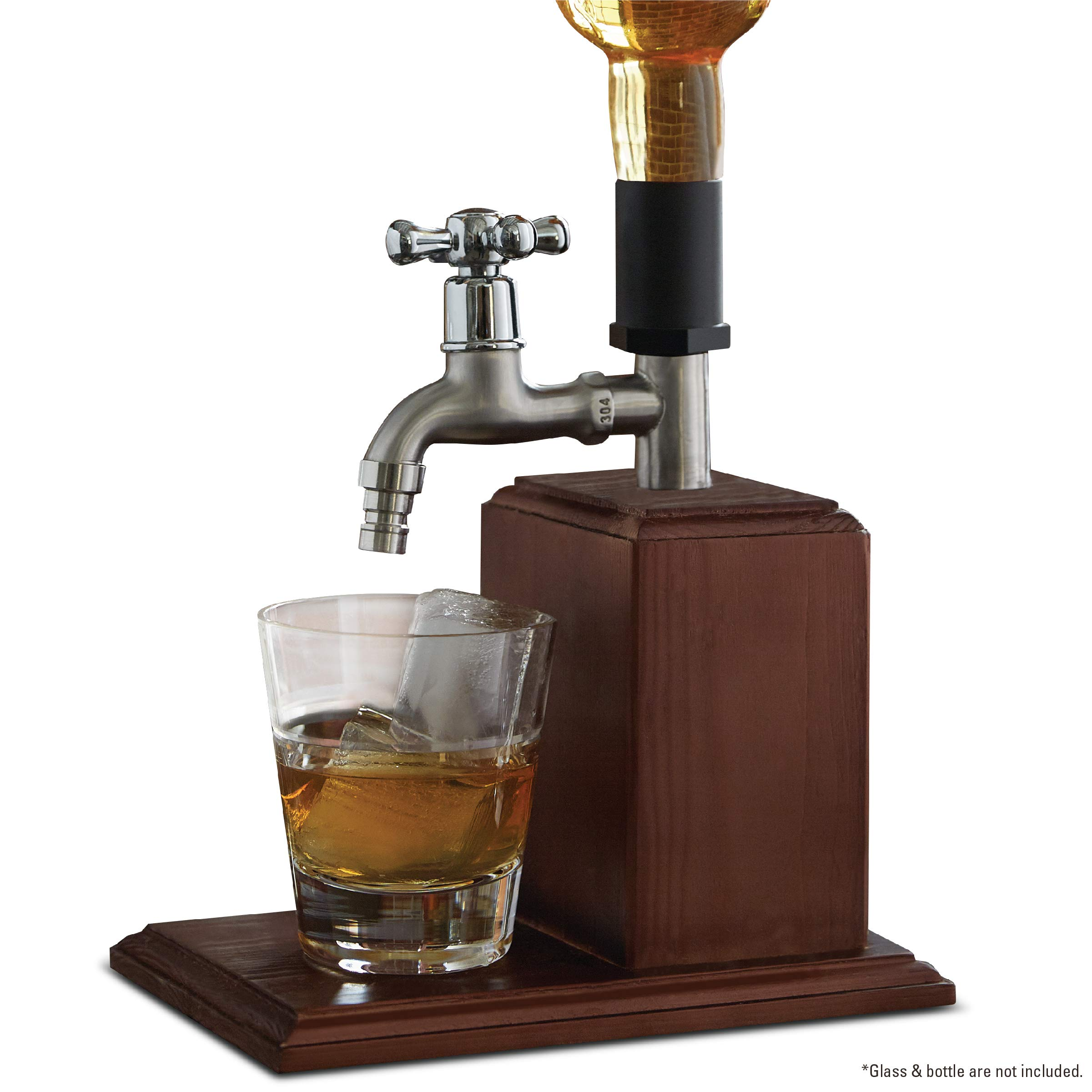 Refinery and Co. Drink Dispenser for Whiskey and Other Libations, Easy Dispensing Spout by Refinery and Co.