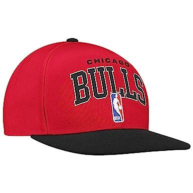adidas NBA Gorra Ajustable Gorro de Proyecto, Hombre, Chicago ...