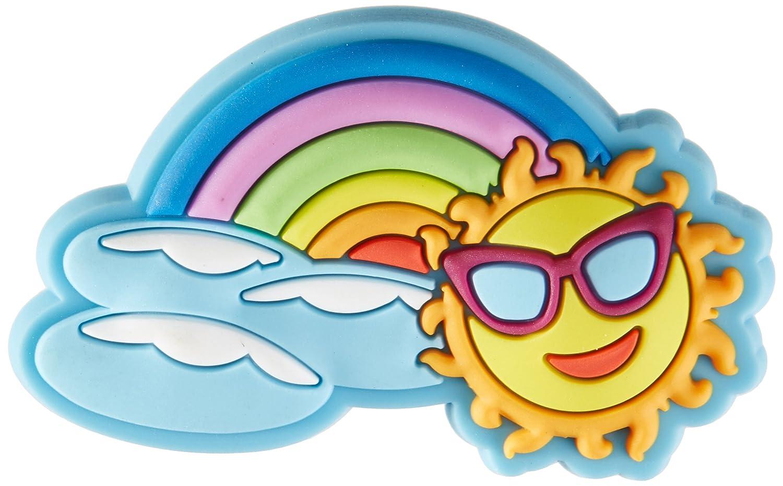 Crocs Rainbow Sun Charm SS17 Shoe Decoration Charms, Multicolour (-), One Size 10006858