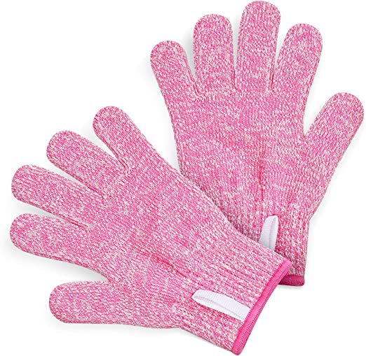 Amazon.com: TruChef Kids Cut Resistant Gloves (Ages 8-12) - Maximum Kids  Cooking Protection. Safe Hands from Real Kitchen Knives and Tools. Perfect  for Oyster Shucking and Whittling.: Home & Kitchen