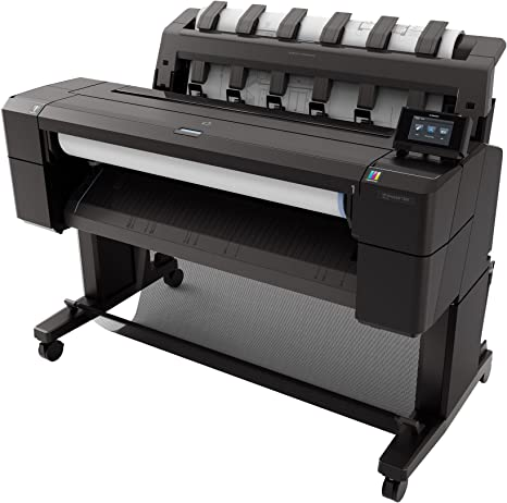 HP Designjet T920 - Plotter (2400 x 1200 DPI, A1), negro: Amazon ...