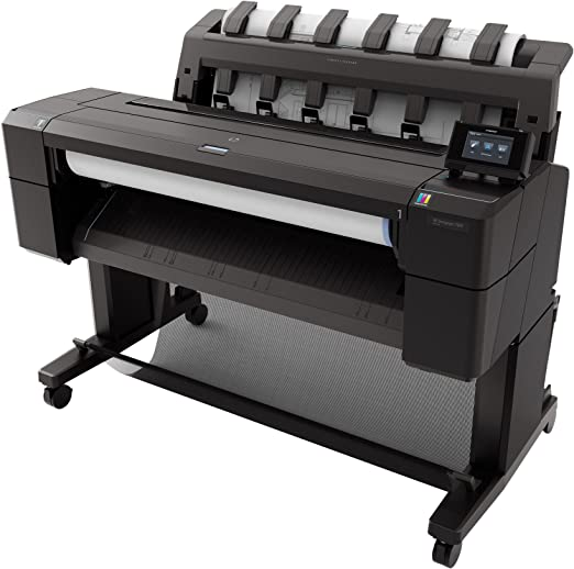 HP Designjet T920 - Plotter (2400 x 1200 DPI, A1), negro: Amazon.es: Informática