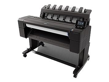 HP Designjet T920 - Plotter (2400 x 1200 DPI, A1), negro ...