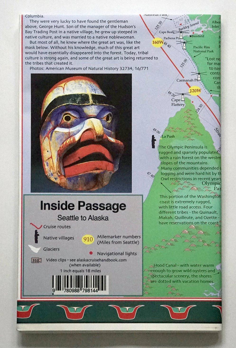 Alaska Cruise Map Illustrated Joe Upton 9780988798144 Amazon Com