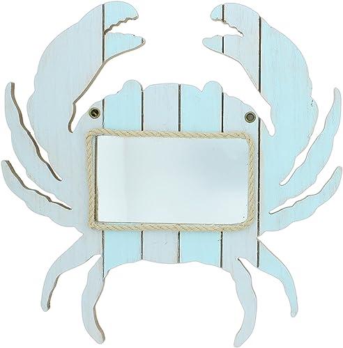 Mayrich 15 Blue Wood Crab Mirror