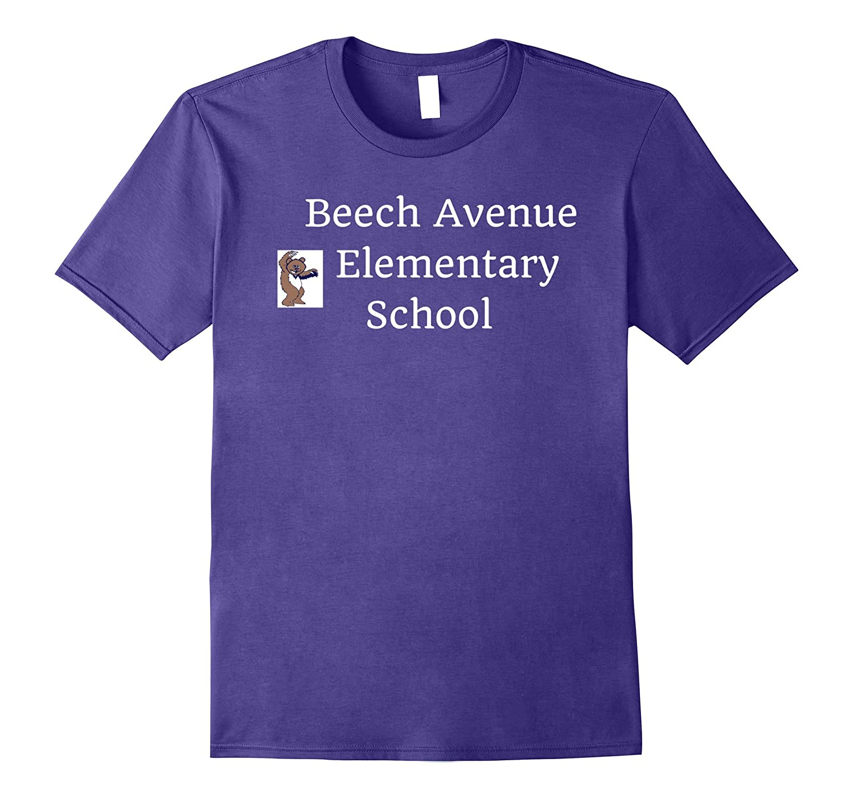 Beech Avenue Elementary School T-Shirt Fontana California-Art