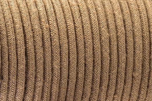 3 Core Vintage braun – antik geflochten rund gewebte Seide Stoff ...