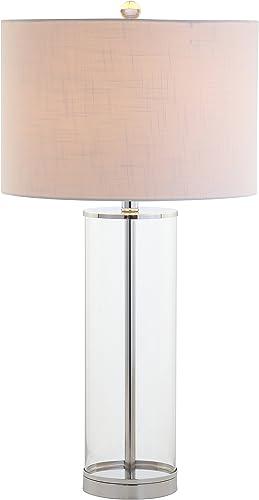 JONATHAN Y JYL2004A Harper 29″ Glass LED Lamp Modern,Contemporary,Minimalist