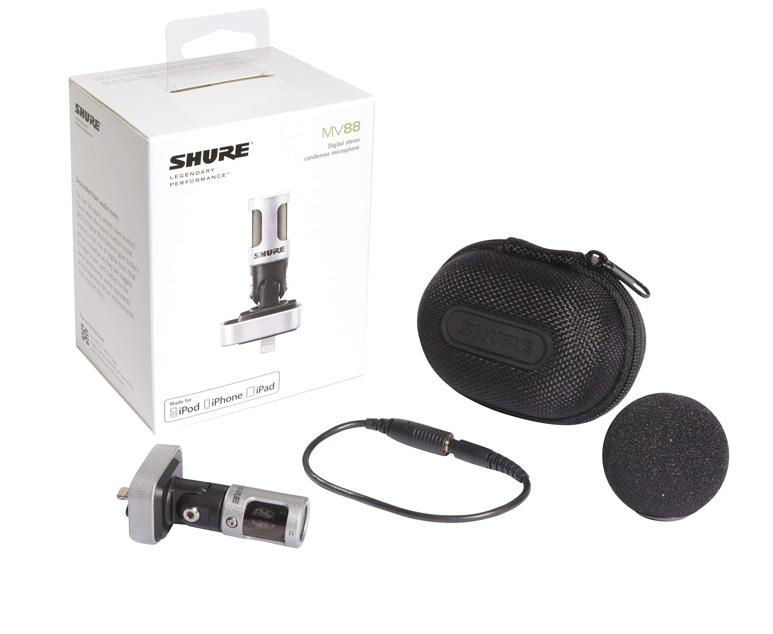 Shure MV88 iOS Digital Stereo Condenser Microphone by Shure (Image #3)