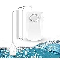GuDoQi Watermelder, WLAN wateralarm, 130 dB, superluid waterlekalarm, wifi-watersensor, waterlekdetector met Tuya/Smart…