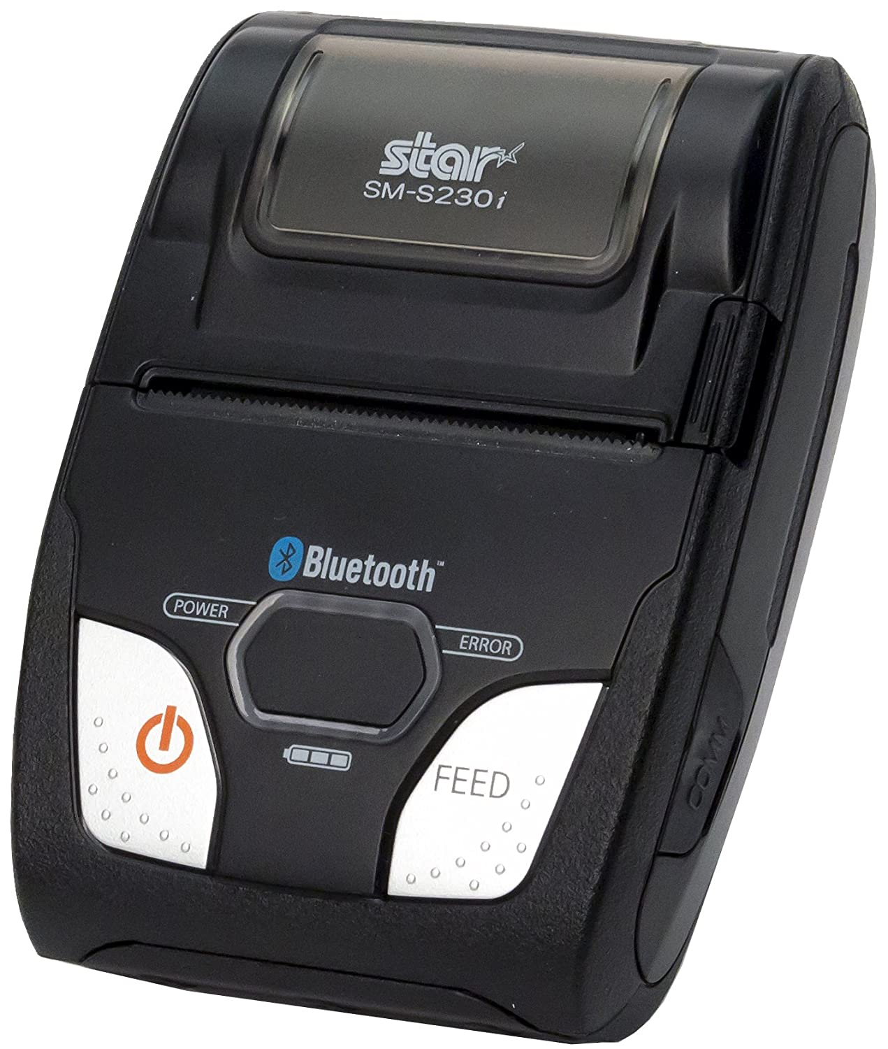 Star Micronics SM-S230i Compact and Portable Bluetooth/USB Receipt Printer with Tear Bar - Supports iOS, Android, Windows