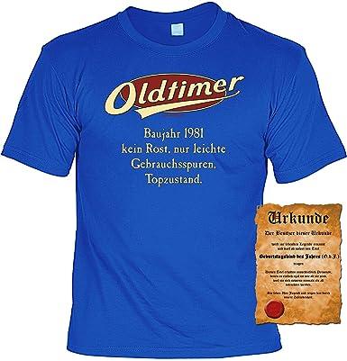 T Shirt Funshirt Sprüche Shirt Und Spaßurkunde Geschenk Set Zum