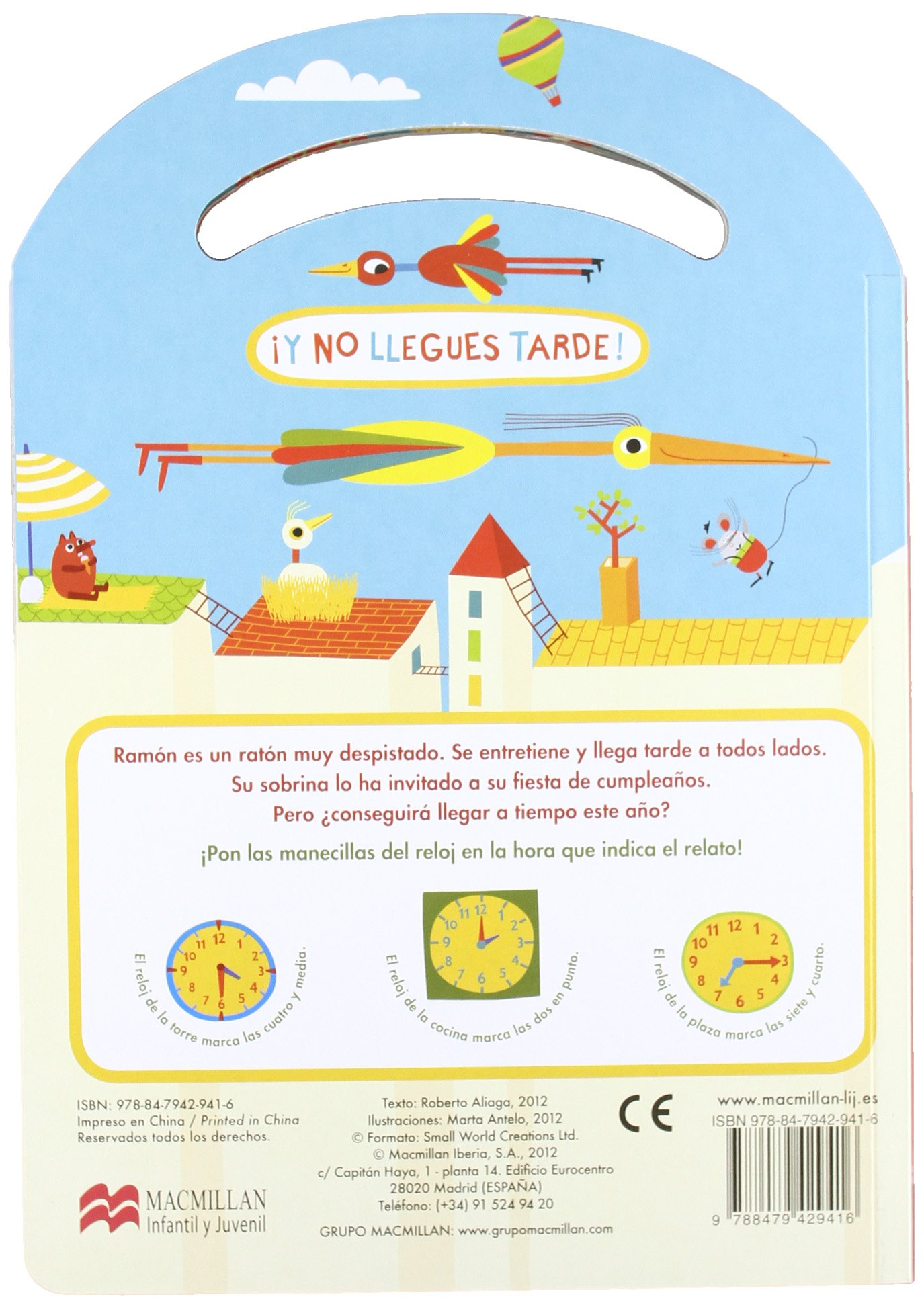 Amazon.com: ¡Y no llegues tarde! (Spanish Edition) (9788479429416): Roberto Aliaga, Marta Antelo: Books