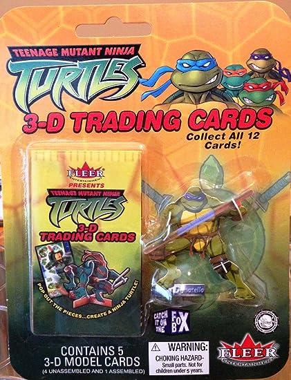 Amazon.com: Vintage Teenage Mutant Ninja Turtles 3D Trading ...