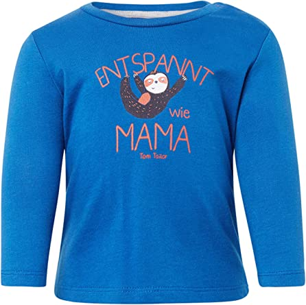 TOM TAILOR Jungen T-Shirts//Tops Langarmshirt mit Print