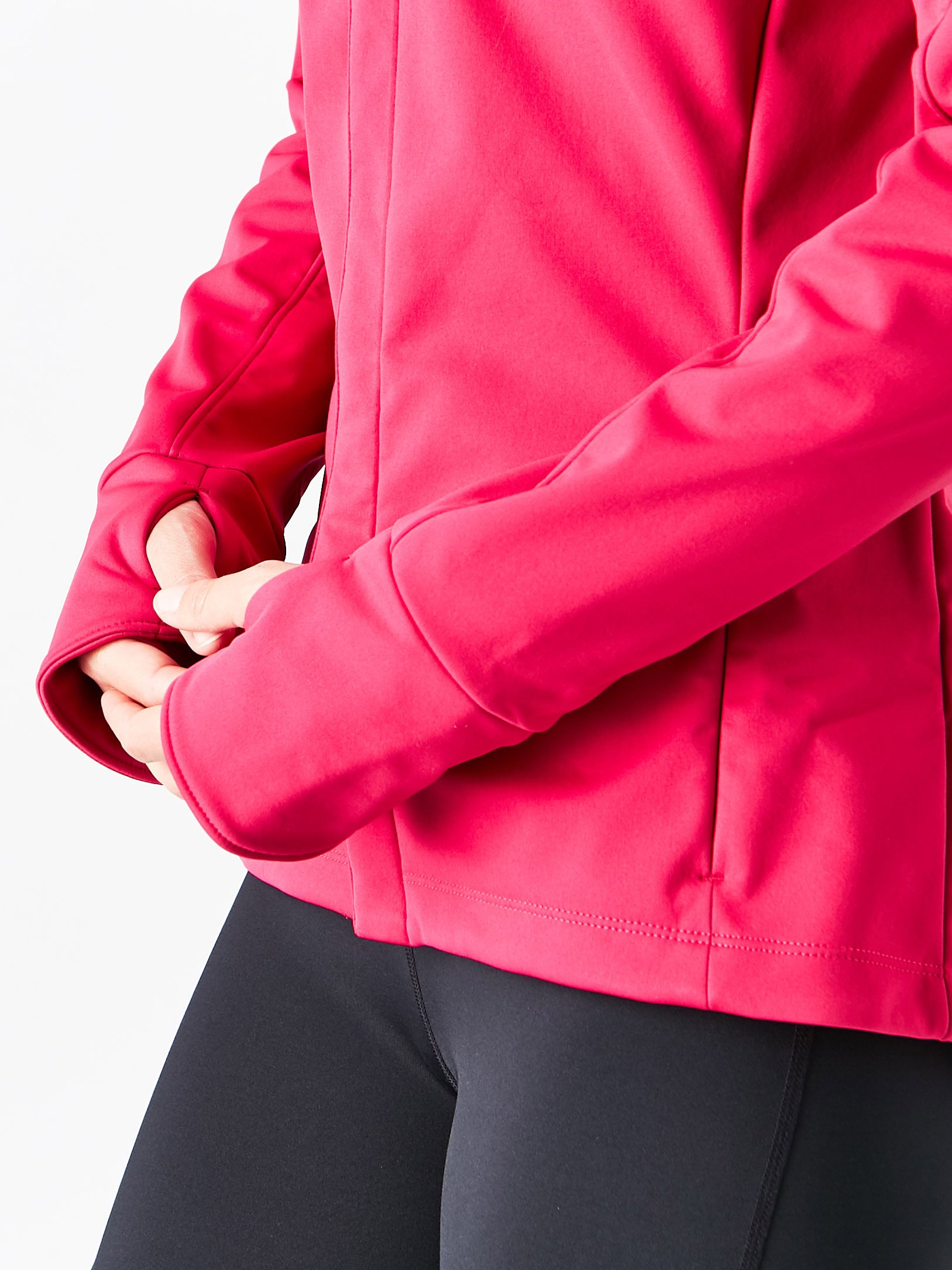 ASICS Womens Softshell Jacket, Performance Black, Small by ASICS (Image #7)