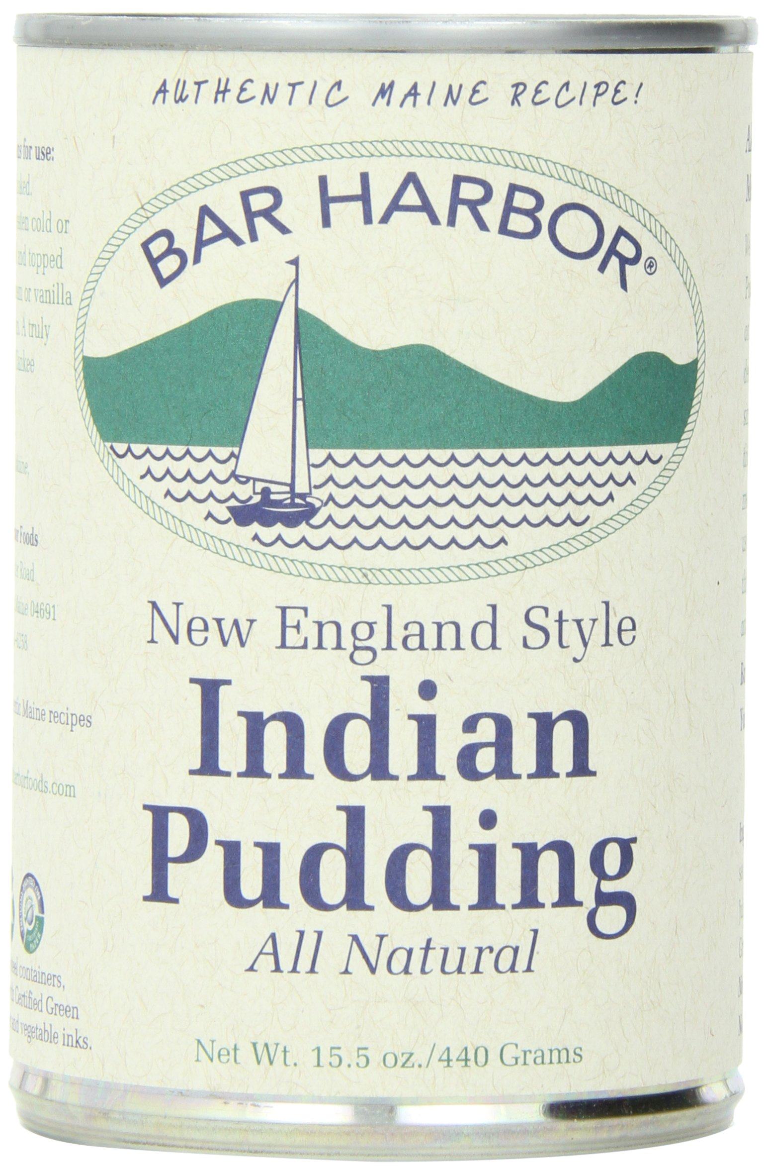 Bar Harbor Indian Pudding -- 15.5 oz (Pack of 6)