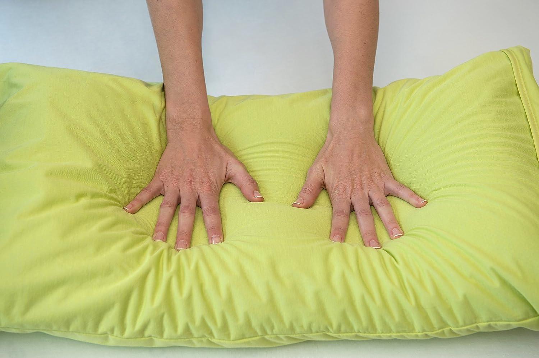 BSensible Tencel Funda de almohada protectora impermeable y transpirable Azulina 75 x 40: Amazon.es: Hogar