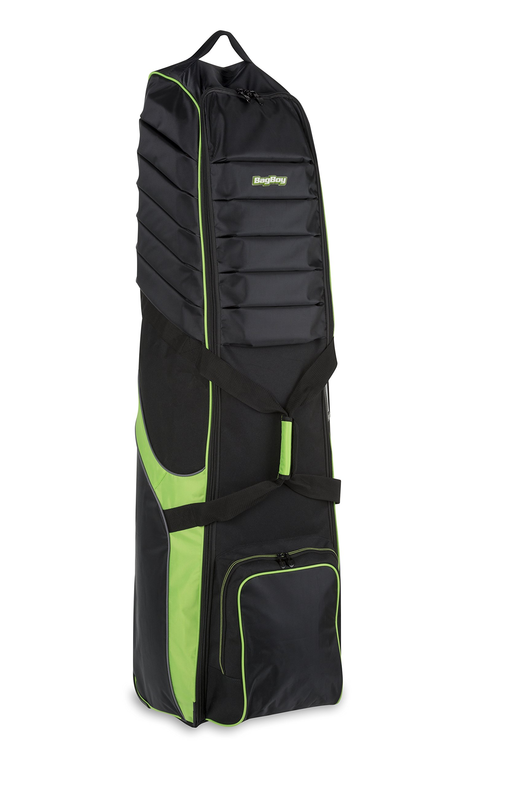 Bag Boy T-750 Wheeled Travel Cover Black/Lime by Bag Boy