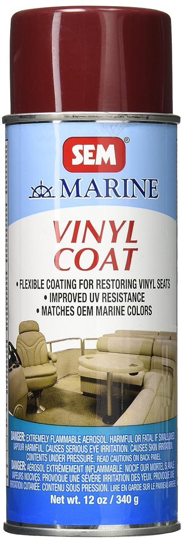 SEM M25243 Sterling Burgundy Marine Vinyl Coat - 12 oz.