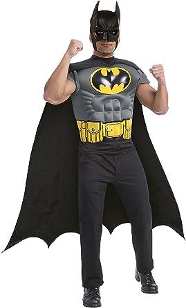 Adults Plain Black Bat Mask Plastic Superhero /& Cape Halloween Party Outfit
