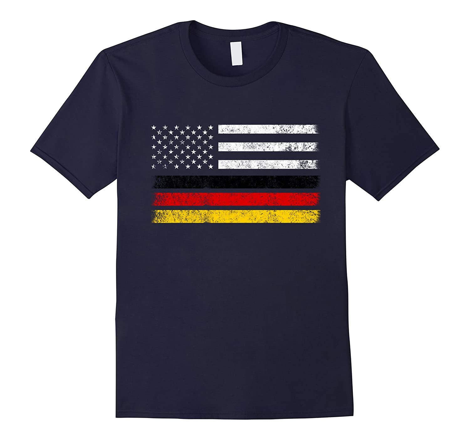 German American Flag - USA Germany Shirt-CD