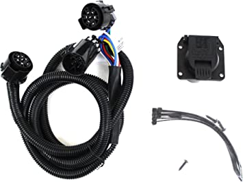amazon.com: genuine dodge ram accessories 82212195ab trailer tow wiring  harness for 5th wheels and gooseneck trailer systems: automotive  amazon.com