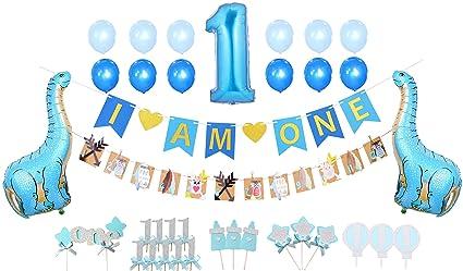 amazon com first birthday decoration set for boy 1st baby boy