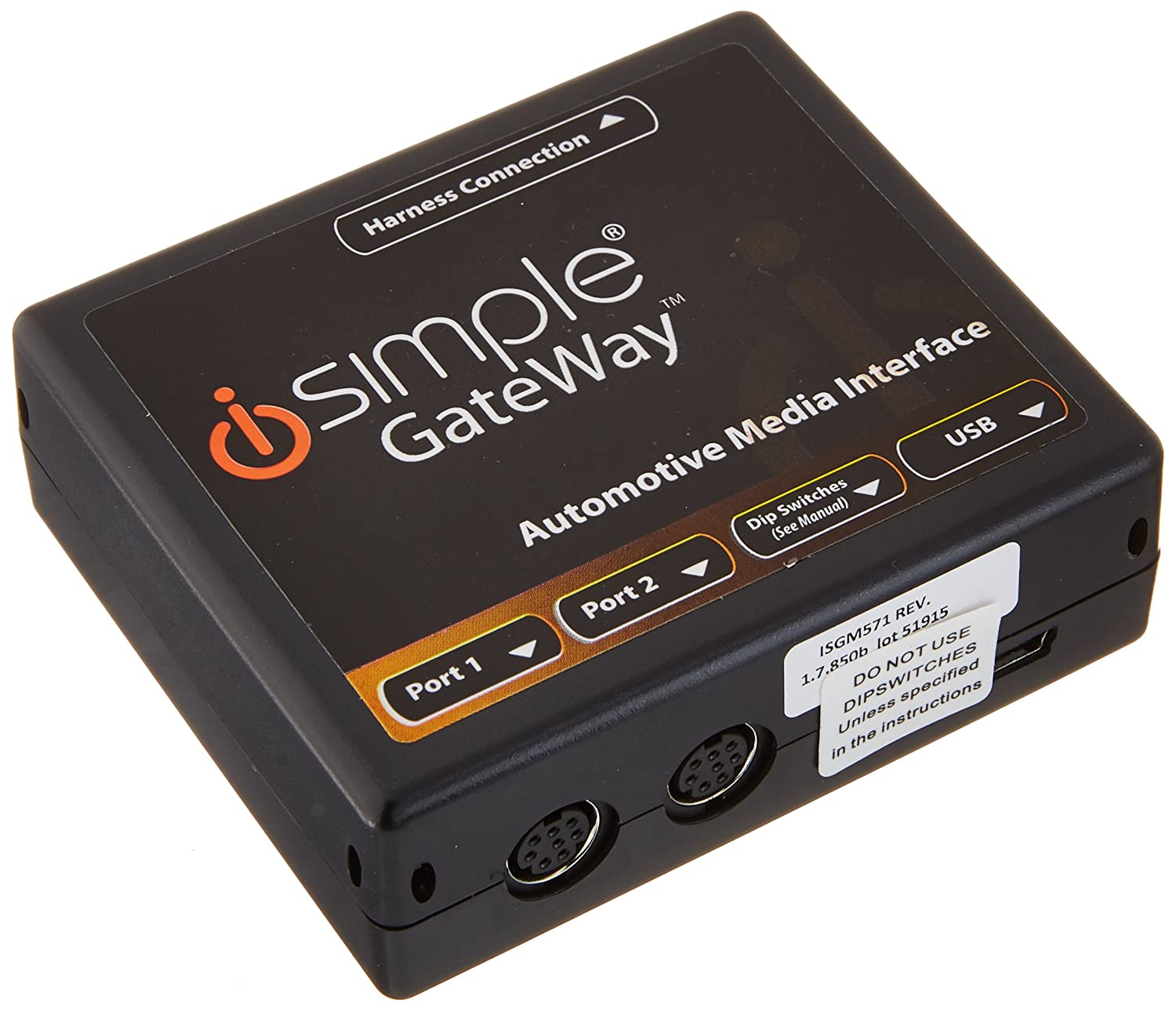 iSimple ISGM571 Gateway Automotive Audio Input Interface Kit for 2006-10 GM 29-Bit Vehicles