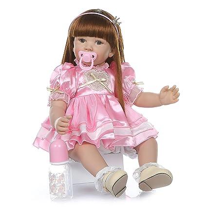 Amazon.com: Zero Pam - Muñecas de bebé de 24 pulgadas ...