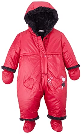 b4377034d Catimini Baby Girls 0-24m Pilote Snowsuit, Pink (Pivoine), 0-3 (Size: 3  Months): Amazon.co.uk: Clothing
