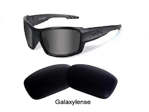 154a350fcd Galaxy Replacement Lenses For Oakley Ten-X Sunglasses Black Polarized Black  Size  Regular  Amazon.co.uk  Clothing