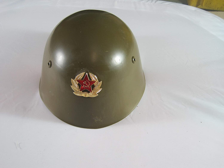 Russischer Stahlhelm m.Kokarde Gr. 56 Halbhelm Halbschale Russland 112233