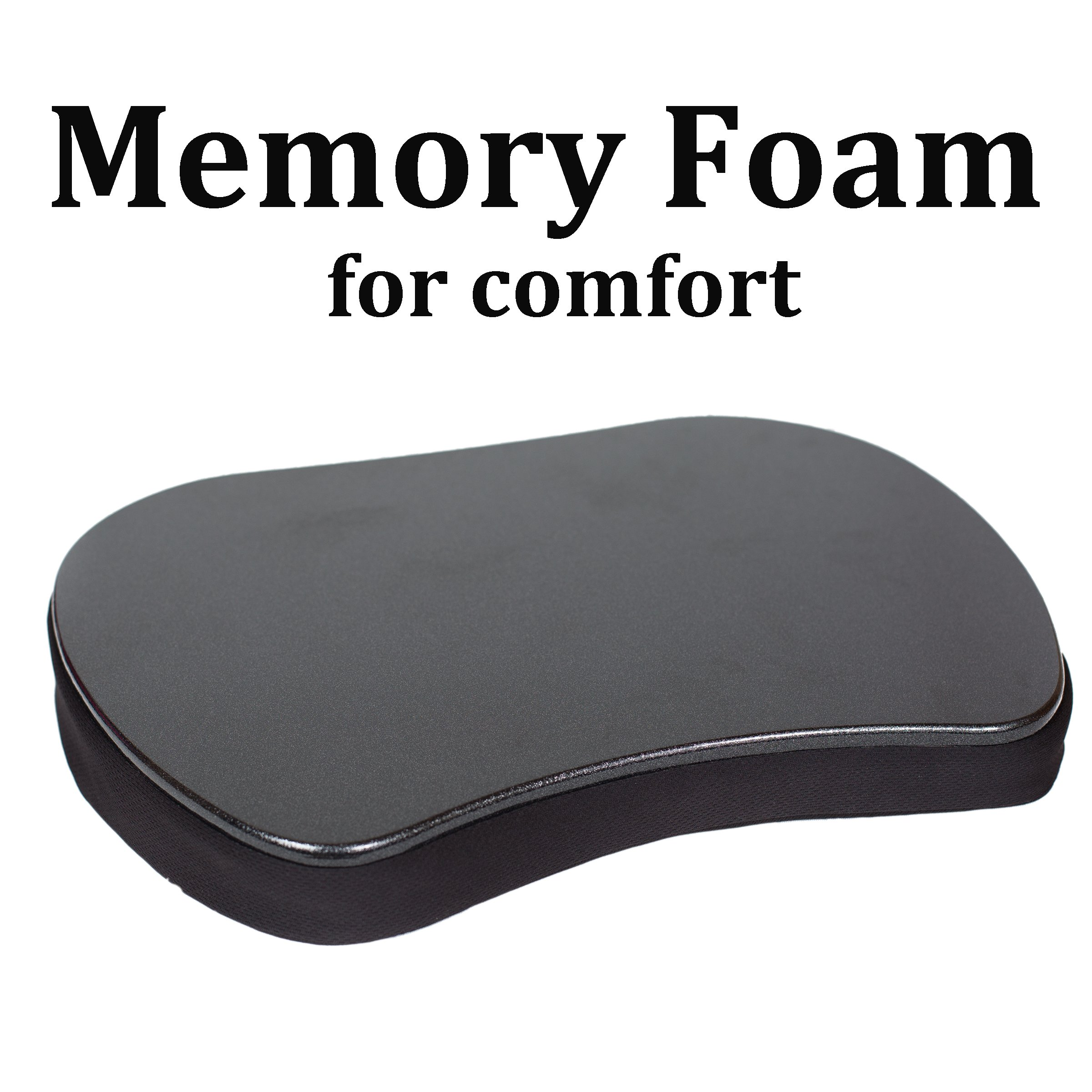Sofia + Sam Mini Memory Foam Lap Desk Color Black by Sofia + Sam