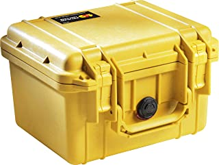 product image for Pelican 1300 Camera Case With Foam (Yellow)